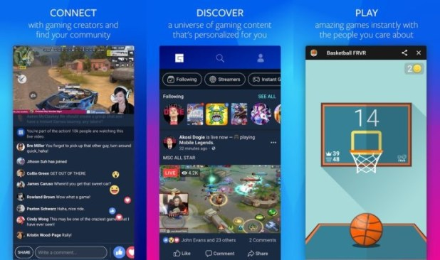 Facebook Gaming Hub