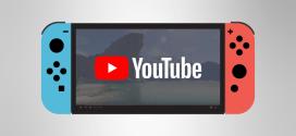 YouTube disponible sur Nintendo Switch