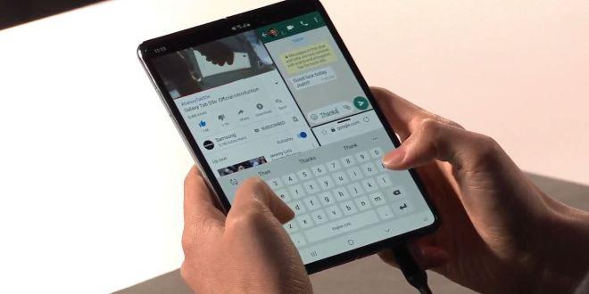 Samsung Galaxy Fold : Le mobile recevra une mise à jour à sa sortie