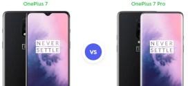 Comparatif : OnePlus 7 vs OnePlus 7 Pro