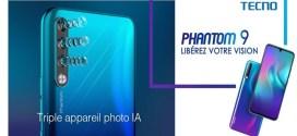 TecnoPhantom9: Laphoto au rendez-vous, DOUBLE FLASH avant + TRIPLE APPAREIL PHOTO arrière