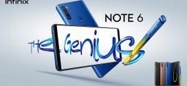 InfinixNote6: «Le Génie» qui stimule votre inspiration