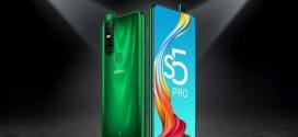 Infinix S5 Pro : SoC Helio P35, un triple capteur de 48MP, écran sans encoche