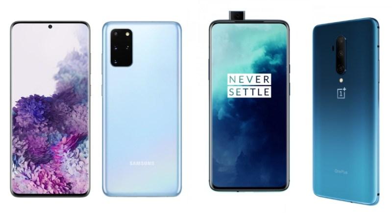 Samsung Galaxy S20 Ultra vs OnePlus 7T Pro
