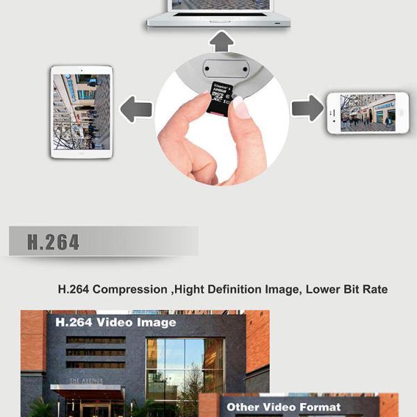 3 x HD Waterproof Onvif 2.4.2 WiFi IP Night Vision Security Camera SRICAM SP0072 4
