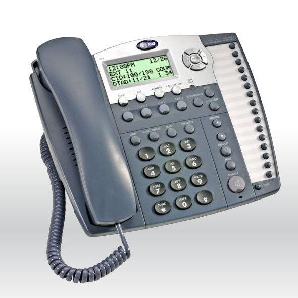 5 AT&T ML17929 2 Line Office Phone CallerID Speakerphone Conference Headset Jack bg