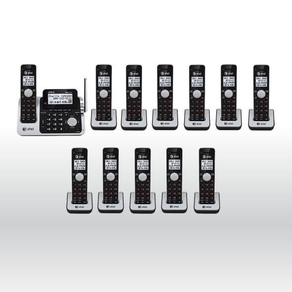 AT&T CL83201 CL83101 CL83401 CL83451 DECT 6.0 Cordless Phone System w 12 Handset bg