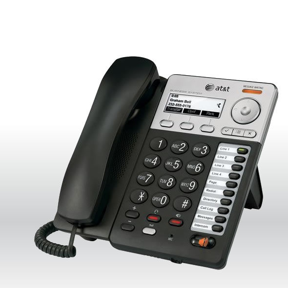 AT&T SB35020 Syn248 Corded Deskset Phone for SB35010 Analog Gateway System bg