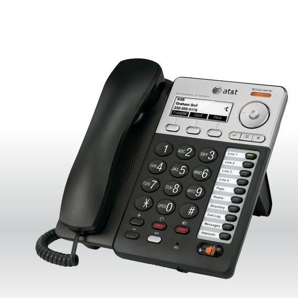 AT&T SB35020 Syn248 Corded Deskset Phone for SB35010 Analog Gateway System bg