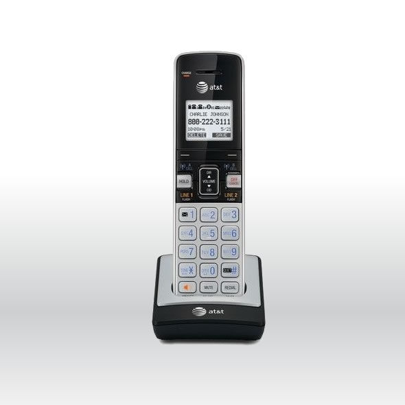 AT&T TL86003 2 Line Connect-To-Cell Caller ID Waiting ID Handset for TL86103 bg