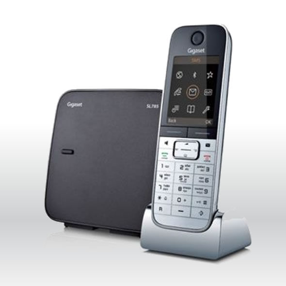 Siemens Gigaset SL785 Cordless DECT Phone with Bluetooth + Ans.Machine