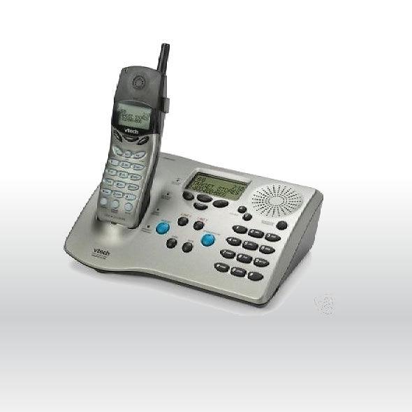 Vtech 20-2431 Cordless 2 Line Speaker phone Expandable bg