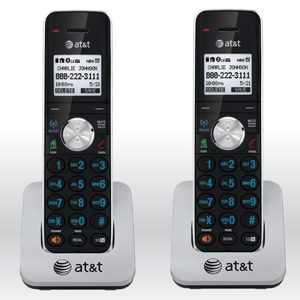 2 x AT&T TL90071 Dect 6.0 Extra Handset Charger for TL92271, TL92371, TL92471