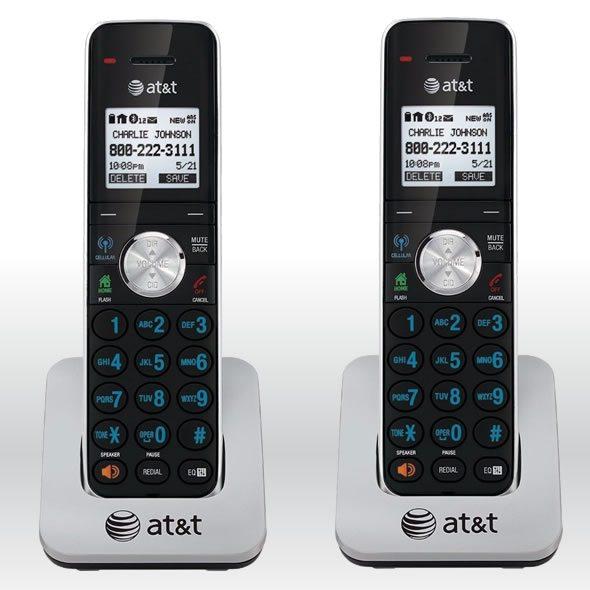2 x AT&T TL90071 Dect 6.0 Extra Handset  Charger for TL92271, TL92371, TL92471