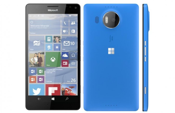 Alleged press images of Microsoft's upcoming duo of flagship smartphones leak out