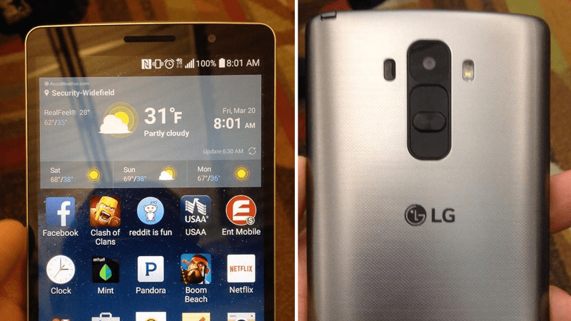 LG G4 Pro/Note tipped to come with a plastic body and removable battery