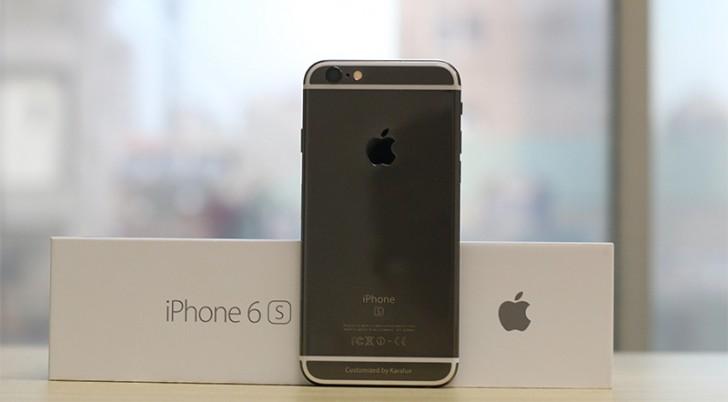 Apple iPhone 6s gets Black Gold coating
