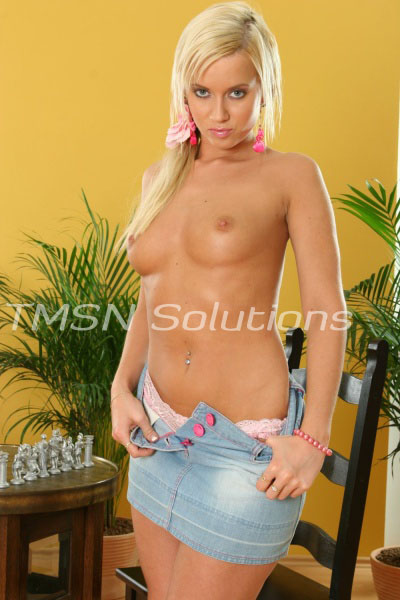 blonde teen student