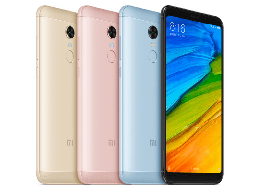 Xiaomi launches the 4GB RAM variant of the Redmi 5