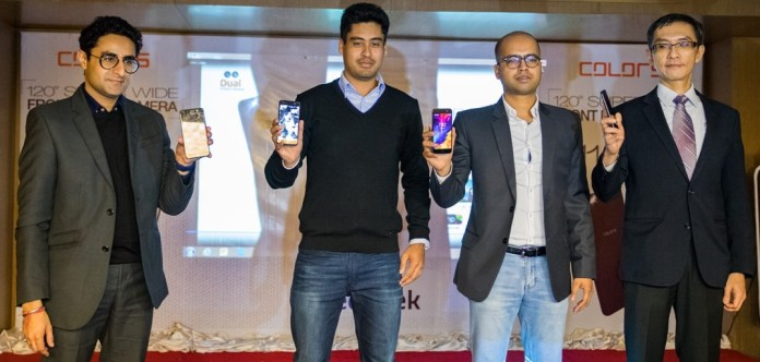 Colors S11 with dual front cameras launched in Nepal