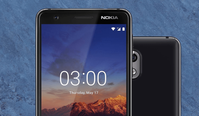 Nokia 3.1 officially launched with 13MP camera