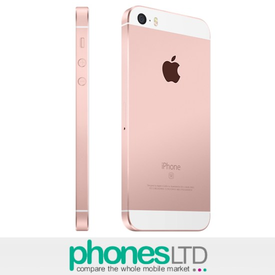 sneakers for cheap e25ad 172bf Compare Apple iPhone SE 64GB Rose Gold EE Deals - Phones LTD