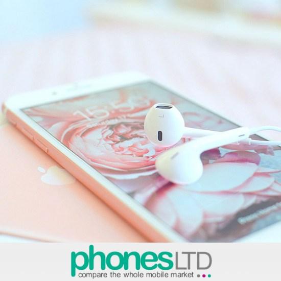 70e79691e309d3 Compare Apple iPhone 7 Plus 256GB Rose Gold O2 Deals - Phones LTD