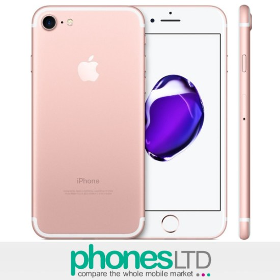 Amazon Fire Tablet With Apple Iphone 7 32gb Rose Gold Deals