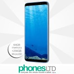 Upgrade to the Samsung Galaxy S8+ in Coral Blue
