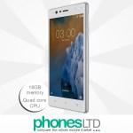 Nokia 3 16GB Silver White Upgrade Deals
