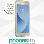 Samsung Galaxy J3 2017 Gold Deals