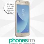 Samsung Galaxy J3 2017 Gold Deals