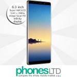 Samsung Galaxy Note 8 64GB Midnight Black deals
