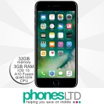 iPhone 7 Plus 32GB Jet Black upgrade deals