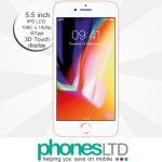 iPhone 8 Plus 256GB Gold deals