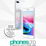 iPhone 8 Plus 64GB Silver upgrade deals