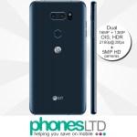 LG V30 Blue Moroccan contract deals