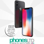 Apple iPhone X 256GB Space Grey upgrade deals