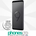 Samsung Galaxy S9+ (S9 Plus) 128GB Midnight Black upgrades