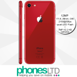 iPhone 8 256GB (PRODUCT)RED™ contracts