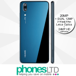 Huawei P20 Midnight Blue contracts