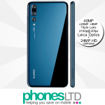 Huawei P20 Pro Blue contracts