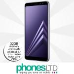 Samsung Galaxy A8 Orchid Grey upgrades