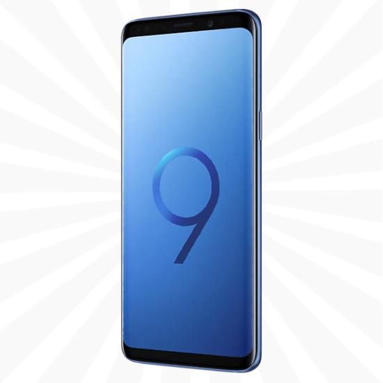 Compare Samsung Galaxy S9 Plus 64GB Coral Blue Vodafone