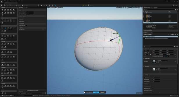 UE5 Modeling Mode TECH BLOG PolyGroupdeform