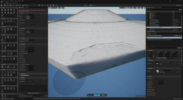 UE5 Modeling Mode TECH BLOG DSculptRemesh
