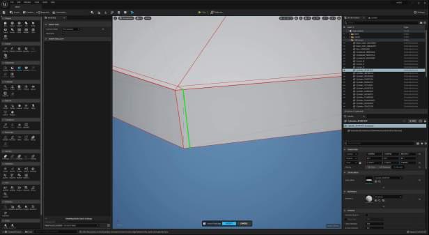 UE5 Modeling Mode TECH BLOG GroupEdgeInsert