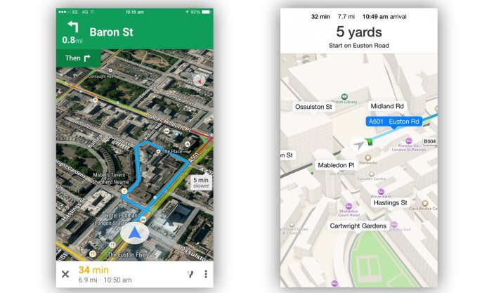 Apple Maps vs Google Maps: Which Is The Best iPhone Mapping