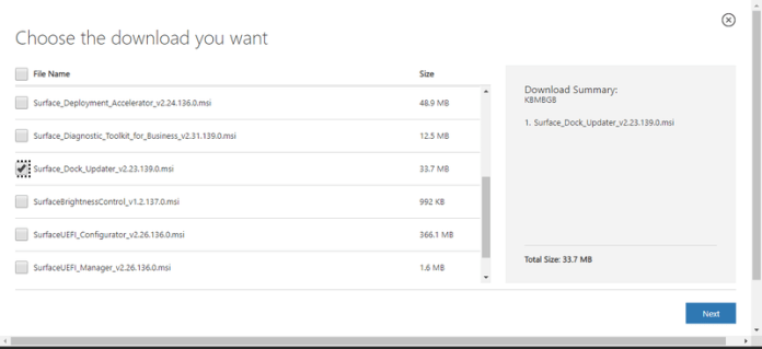 How to update Microsoft Surface Dock firmware - Phoneweek