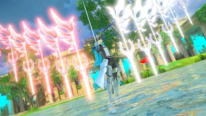 Fate/EXTELLA LINK charlemagne light swords